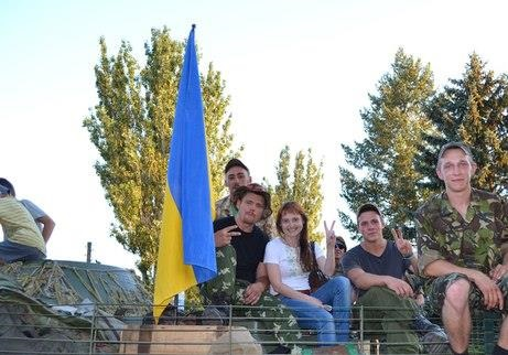 Луганські селяни дружно гукнули: «Слава Україні!»