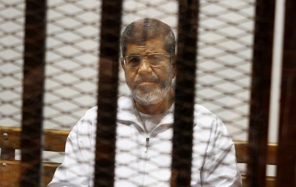Экс-президент Египта Мурси жалуется на плохое питание в тюрьме