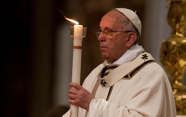 Папа Римский Франциск призвал запретить ядерное оружие