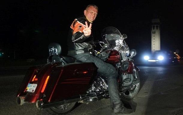 Экс-министр Швайка на Harley Davidson врезался в джип