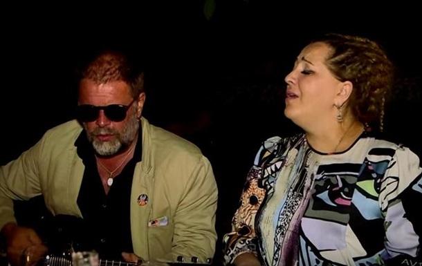 Гребенщиков и Катамадзе спели на празднике Саакашвили
