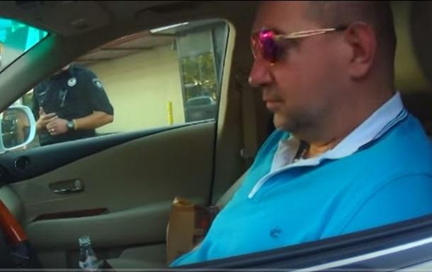 Появилось видео задержания полицией нардепа Мельничука