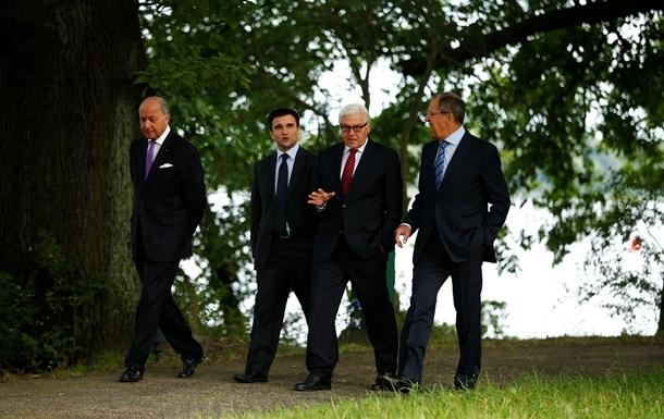 Дело за Россией. Главы МИД  нормандской четверки  готовы к встрече