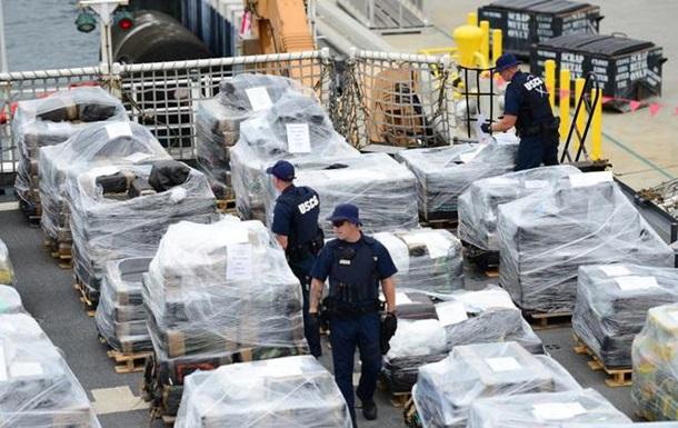 У побережья США изъяли рекордную партию кокаина