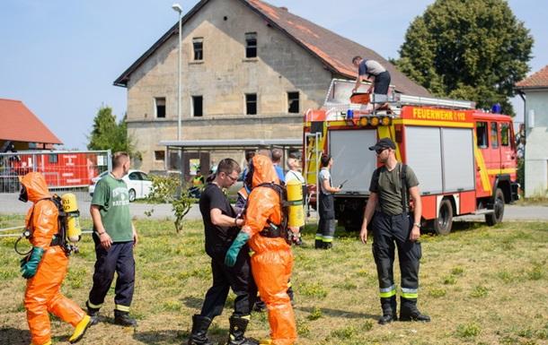 В Германии разбился американский истребитель
