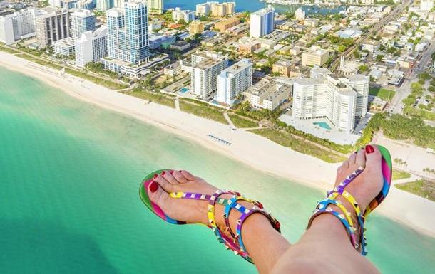Обувные селфи : любители экстрима популяризируют в США новый тренд
