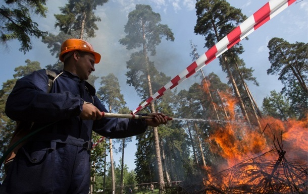 Четверть Бурятии охватили лесные пожары