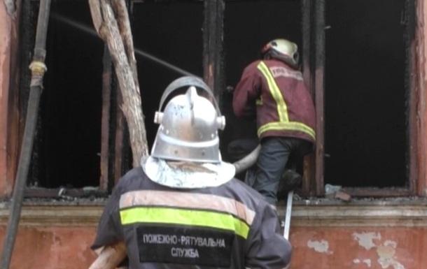 В Черновцах сгорел офис  Свободы