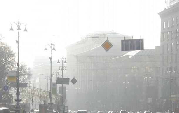 Загрязнение воздуха в Киеве превышает норму в пять раз