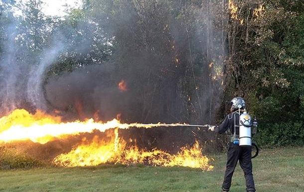 Легальные развлечения: в США начались онлайн-продажи огнеметов