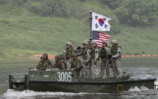 Южная Корея и США начали совместные военные учения