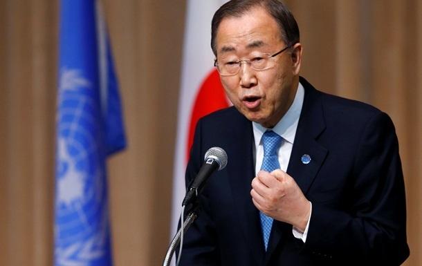 Генсек ООН призвал к срочным шагам для деэскалации на Донбассе
