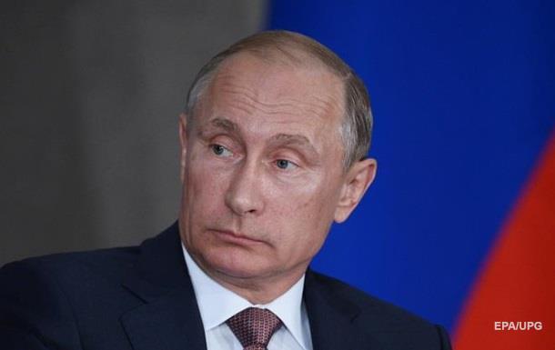 Путин обвинил Киев в эскалации конфликта на Донбассе