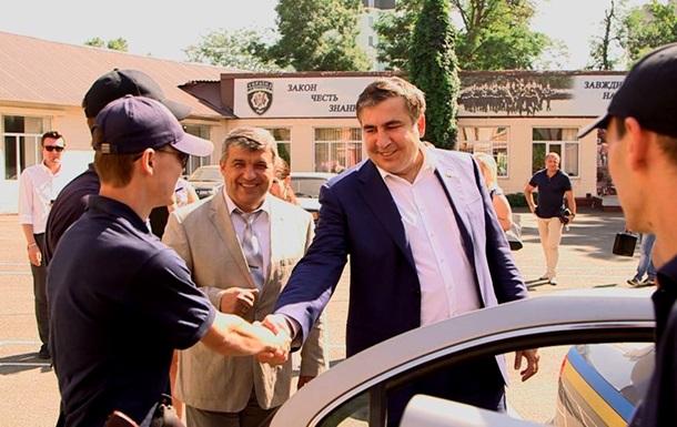 Саакашвили: Одесские воры в законе свернули свой бизнес