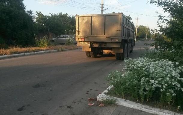 В Сартане военный грузовик сбил пожилую женщину