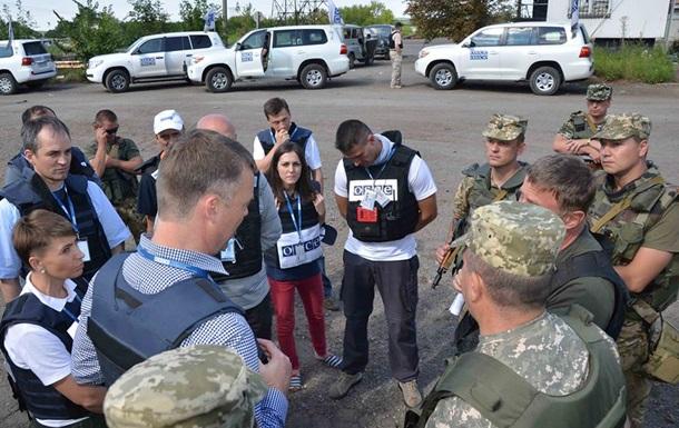 Половина неподконтрольного Донбасса закрыта для ОБСЕ - штаб АТО