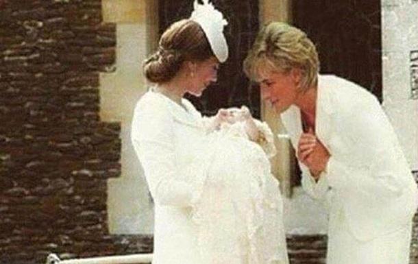 Фотомонтаж с изображением принцессы Дианы с внучкой вызвал споры в сети