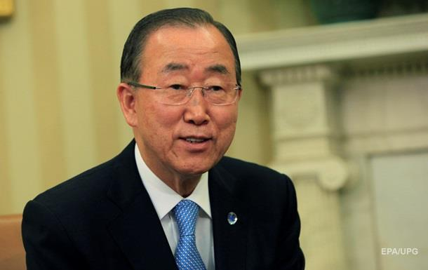 Пан Ги Мун призвал обе Кореи к сдержанности