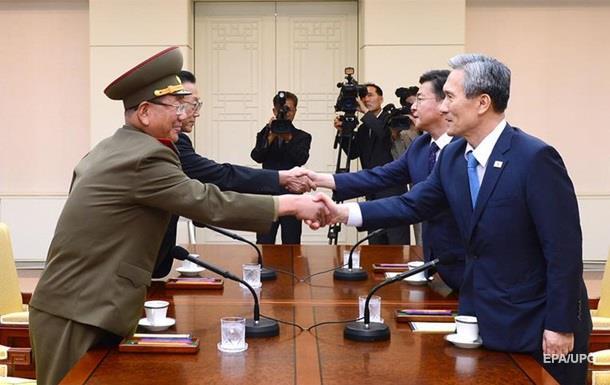 КНДР и Южная Корея продолжают переговоры