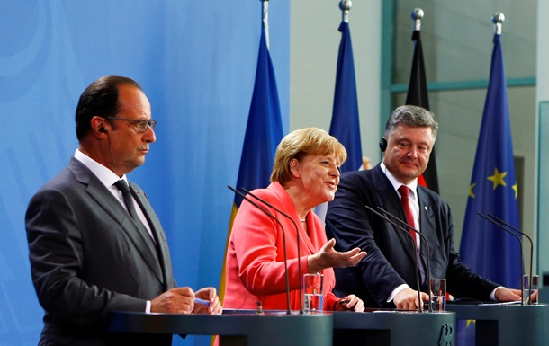 Меркель объяснила цель приглашения Порошенко в Берлин