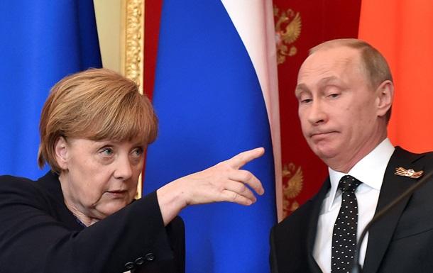 Меркель рассчитывает на Путина в решении конфликта на Донбассе