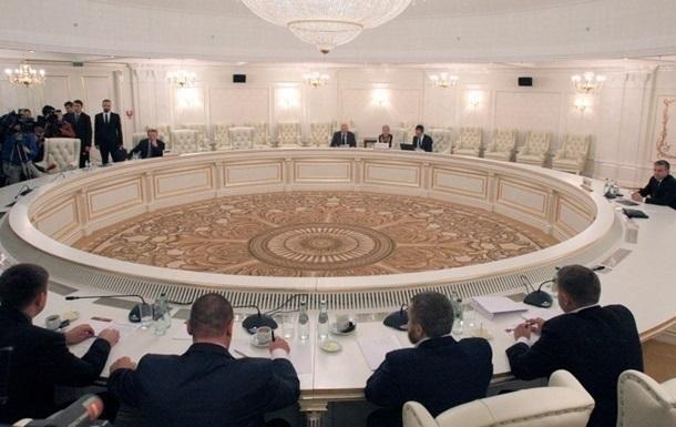 В Минске заседают переговорщики по Донбассу