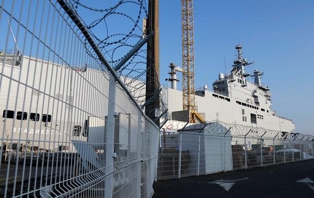 Во Франции опровергли выплату Москве миллиарда евро за Мистрали