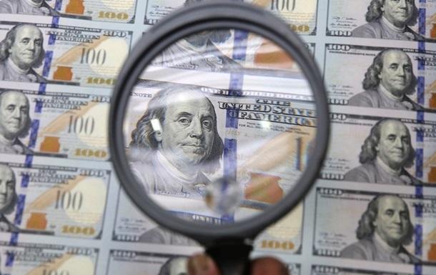 Доллар подешевел на межбанке на гривну