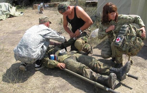 АТО на Луганщине: ранены трое военных и два мирных жителя