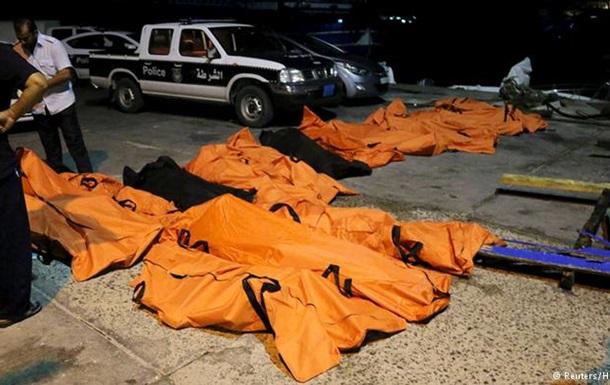 У берегов Ливии погибли до 200 беженцев