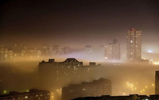 Власти не нашли следов загрязнения воздуха в Киеве
