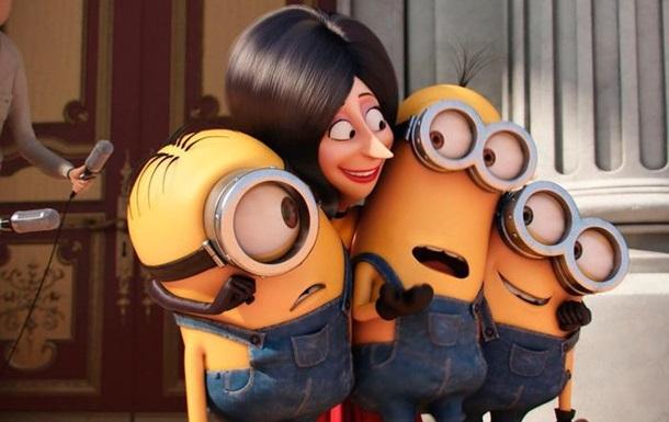 Миньоны вошли в тройку самых кассовых мультфильмов