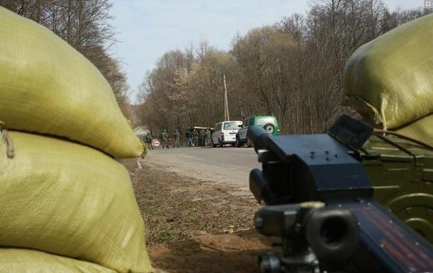 На Донбассе обстреляли два блокпоста пограничников