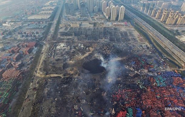 Число погибших при взрыве в Тяньцзине достигло 150 человек