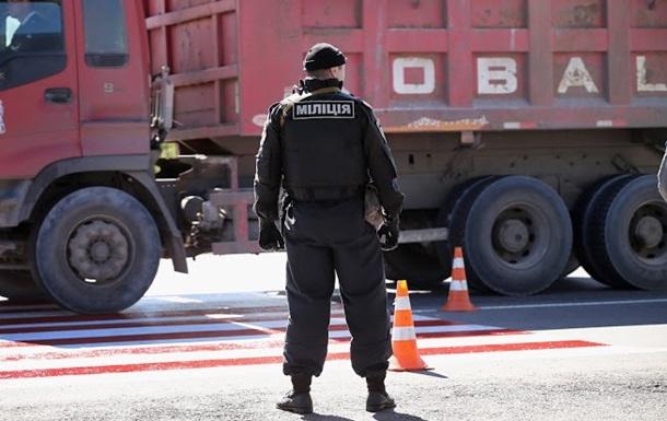 В Одесской области водитель грузовика похитил милиционера