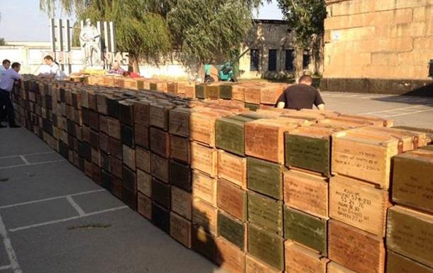 В Днепропетровской области изъяли 100 миллионов капсюлей к патронам