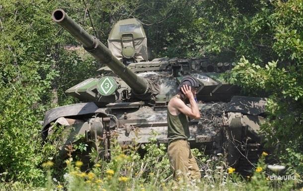 Режим тишины на Донбассе тяжелое оружие молчит