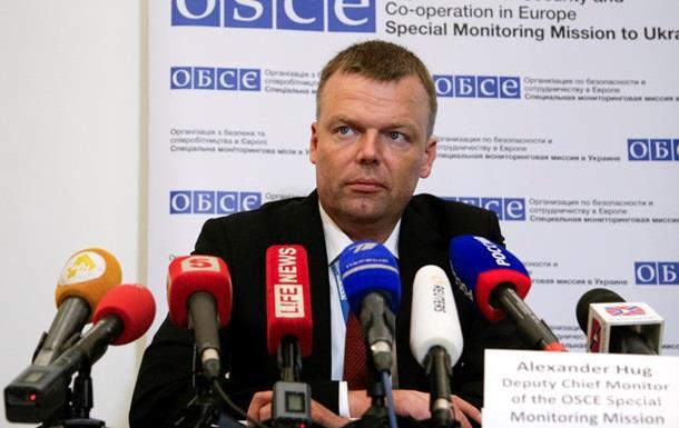 ОБСЕ не подтверждает соблюдение перемирия в Донбассе