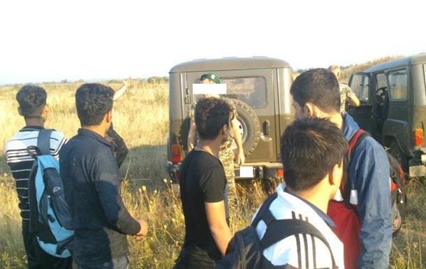 На Закарпатье пограничники задержали нелегалов из Афганистана