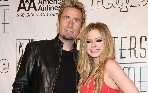 Аврил Лавин объявила о разводе с лидером Nickelback