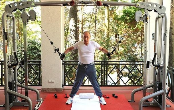 Журнал для культуристов раскритиковал тренировку Путина