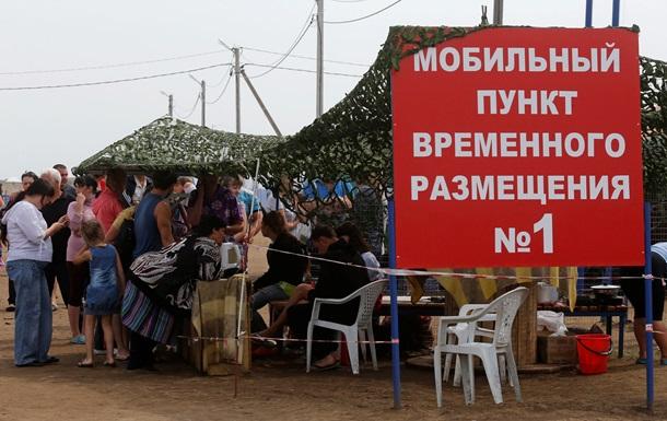 Россия рассказала, сколько потратила на беженцев из Донбасса