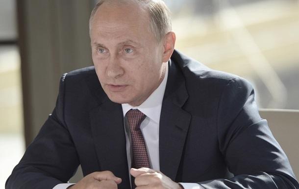 Путин: Беспорядки возле Рады не связаны с Конституцией
