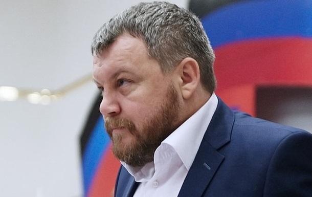 Пургин задержан в Донецке - СМИ
