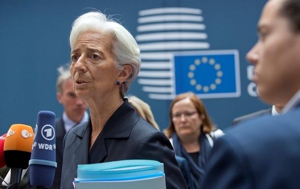 Глава МВФ в воскресенье встретится с Порошенко