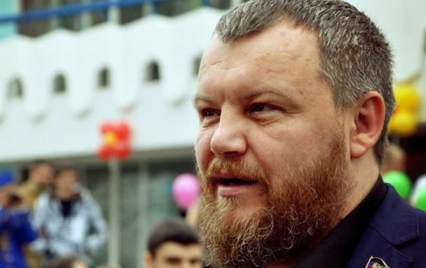 Митингующие в защиту Пургина перекрыли главную улицу Донецка - СМИ
