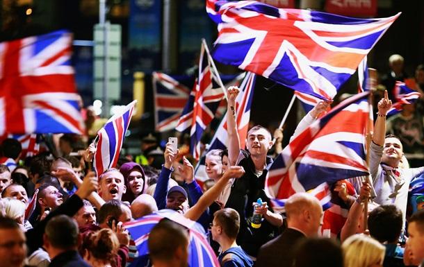 Британцы поддерживают выход из ЕС - опрос