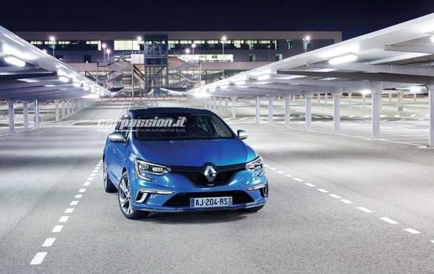 Новое поколение Renault Megane рассекретили до премьеры