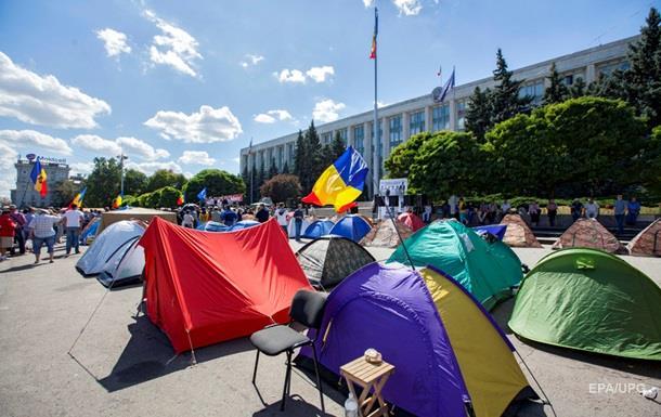 В центре Кишинева вырос  Городок свободы