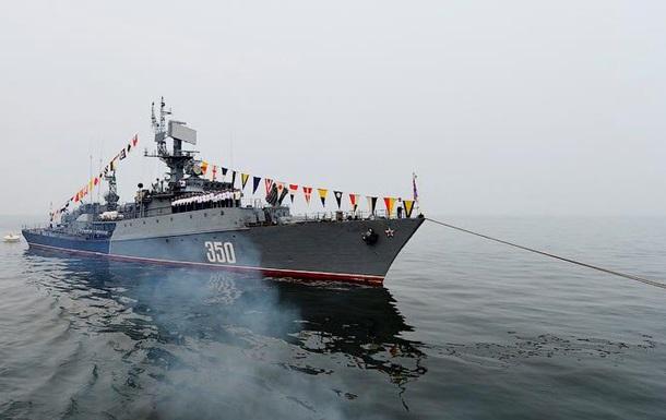 Военный корабль РФ сблизился с американским судном в Чукотском море